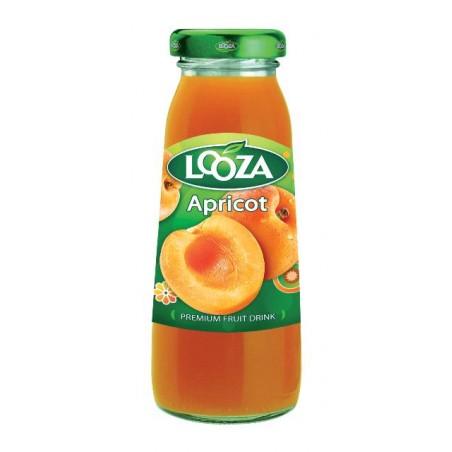 Succo Frutta Albicocca Looza in bottiglietta vetro da 200 ml conf. da 24 pz