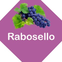 Vino Rabosello in bottiglia...